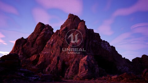 Unreal 5 Project Mountain