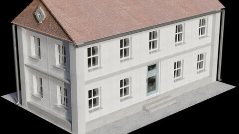German House 1 - 3D-Model