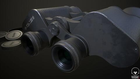 Soviet binoculars BPC 7x50