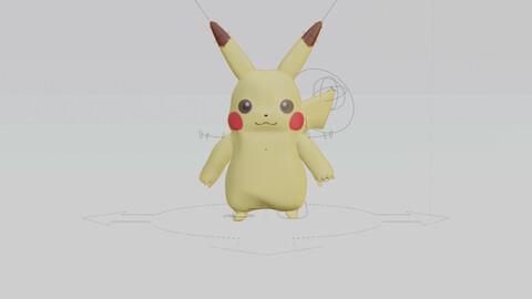 Low Poly Pikachu
