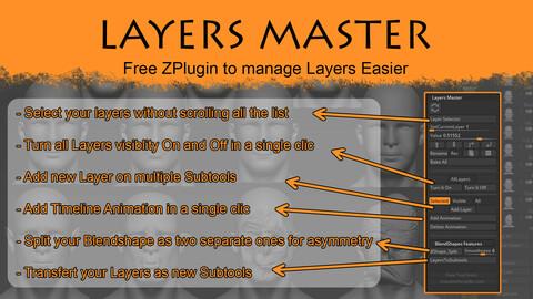 Layers Master / Free ZPlugin