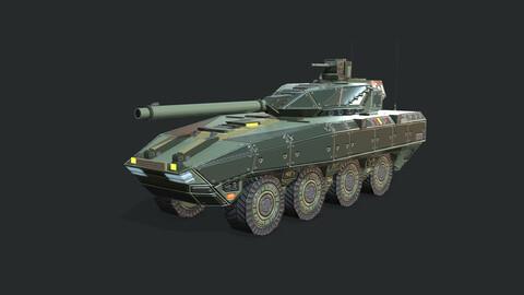 Warp A2 Predator Tank Assault Gim