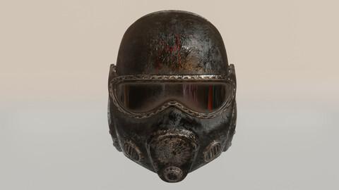 Metro 2033 Helmet 3D Print Model