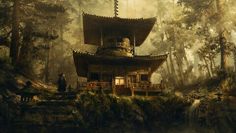 Japanese Temple Pack