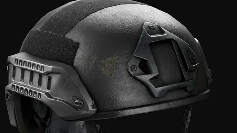 Nexus SF M3 Tactical Helmet LowPoly