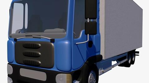 Light-duty truck box