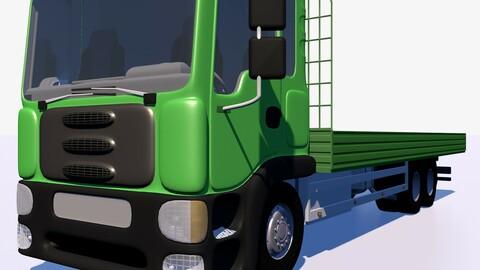 Open body truck