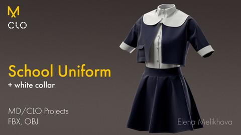 School Uniform with Skirt
