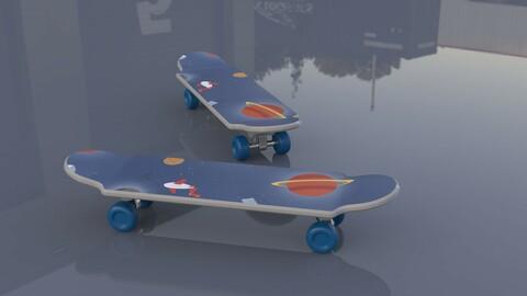 Glide skateboard, snowboard, mountain board, trailer, scooter,