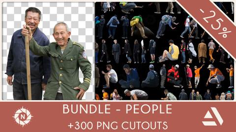 Bundle: PNG Cutouts - People