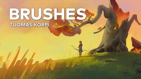 Photoshop Brushes - Tuomas Korpi