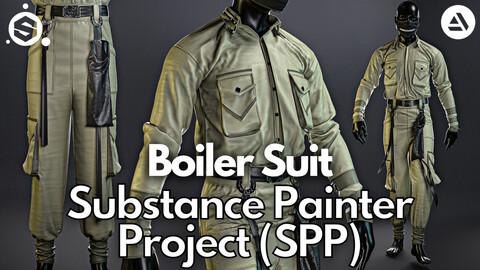 Substance Painter (.SPP) : Boiler suit