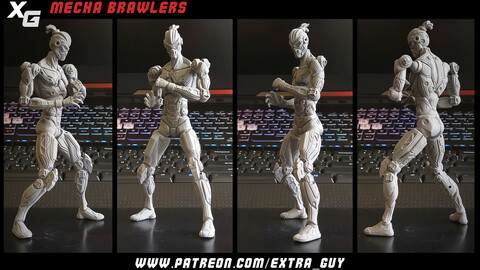 Capoeira Guy Printable 170 mm
