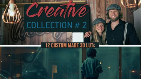 Creative Collection #2 – 12 Professional Color Grading LUTs