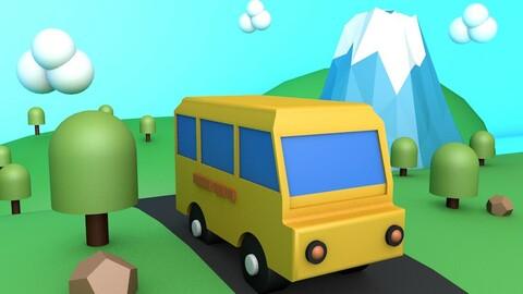 Bus bus bus vehicle city road bus electric car bus coach bus concept