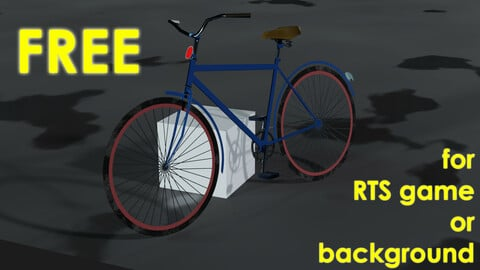 Bicycle for RTS game or background FREE Free