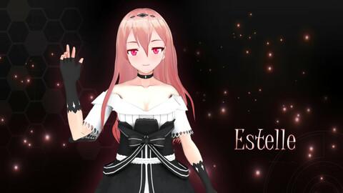 Estelle Original - VRChat/Game Ready