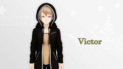 VIctor V2 Original - VRChat/Game Ready