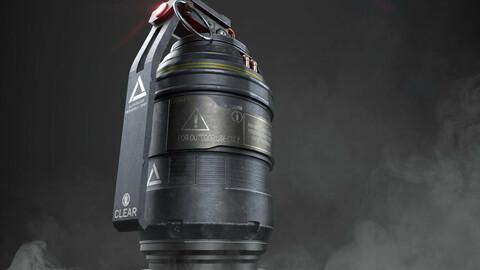 Scifi Frag Grenade