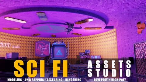 sci fi assets studio pack