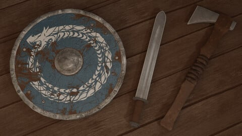 Scandinavian weapon pack