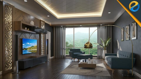 Architectural visualization with 3ds Max 2022 and Corona Renderer 7