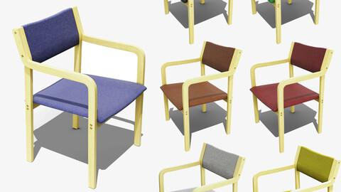 70's Retro Chair 3D Model