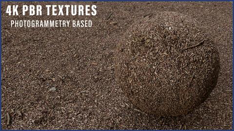 Photogrammetry - Gravel Ground Material