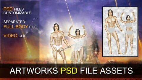 PSD SOURCES for CUSTOMIZATION - Surrender