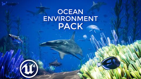 Ocean Environment Pack - UE4 & FBX