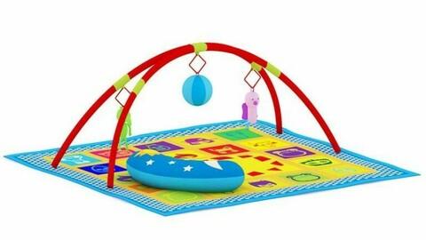 Nordic toys ornaments carpet modern children's activity room