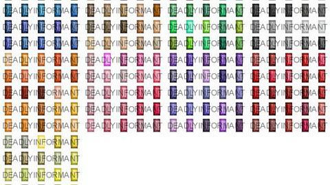 Baguette Cut Gems 48x48