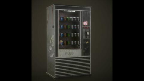 Vending Machine 3D Prop