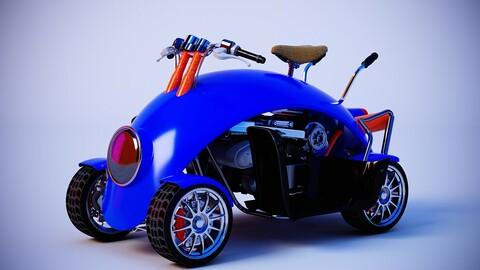 Kart child car child car motorcycle child toy car electric car future