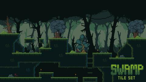 Swamp Tileset PixelArt