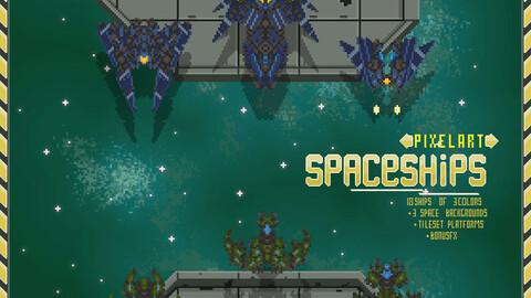 Spaceship Asset PixelArt