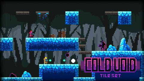 ColdVoid Tileset PixelArt