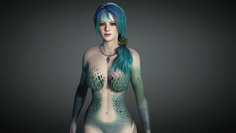 Fantasy Female Character 03