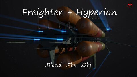 Freighter Hyperion Class Tanker Vessel