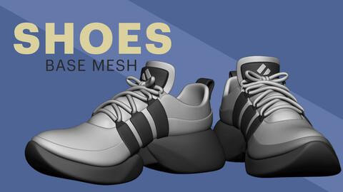 Shoes A - Basemesh