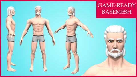 Barry: Cartoon Male Character - Stylized Basemesh