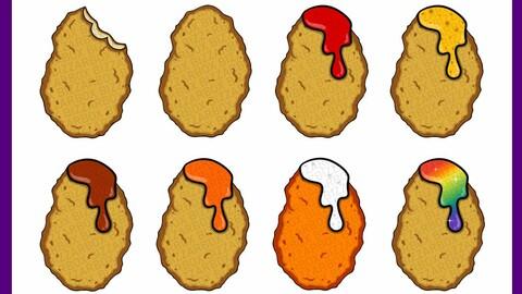 Twitch Sub Badges: Nuggets