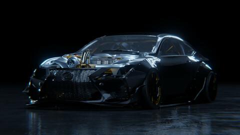 Lexus RCF Formula Drift