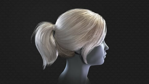 Real-time ponytail