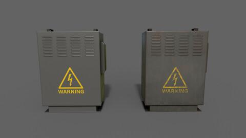 PBR Electric Box (Black) Ver.3