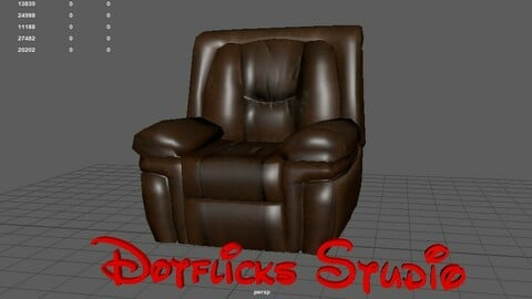 3d Furniture Low and High poly models Service