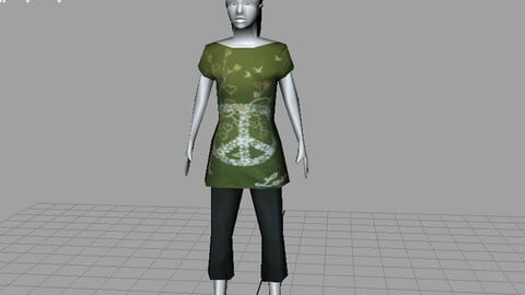 3d Fation low and high poly models Service