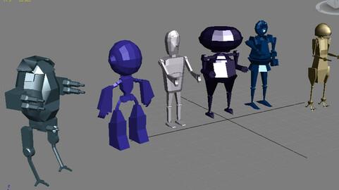 3d Robot models Service