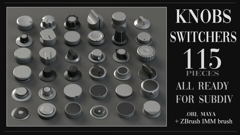 Knobs, Switchers Pack