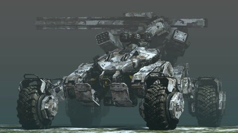 "Unmanned Vehicle ""SPIDER"""
